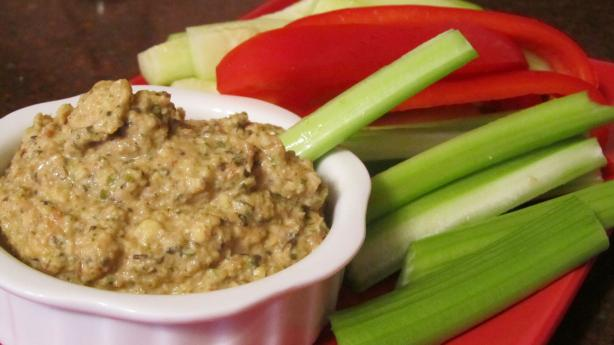 Savory Sprouted Lentil & Nut Spread