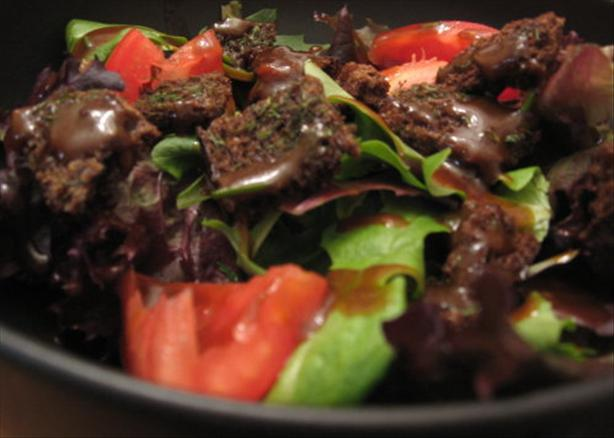 Greens and Tomato-Tomato Salad