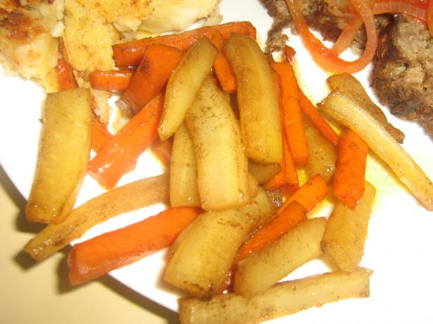 Adders Fork- Glazed Carrots & Parsnips (Zwt Three)