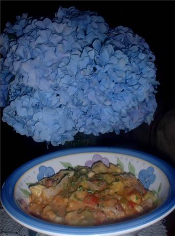 Yellow Squash & Tomatoes Casserole