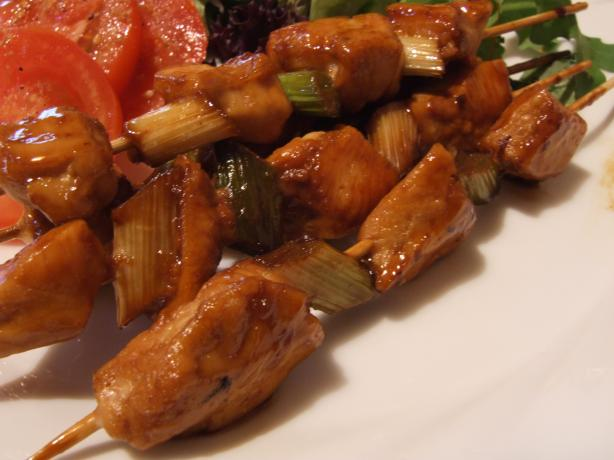 Yakitori ( Japanese Grilled Chicken Skewers)