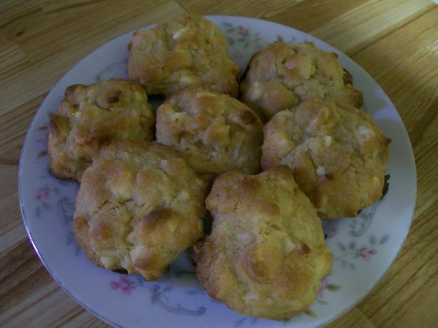 White Chocolate/Coconut/Macadamia Cookies