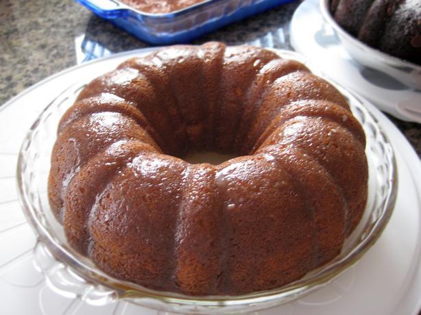 Golden Bacardi Rum Cake