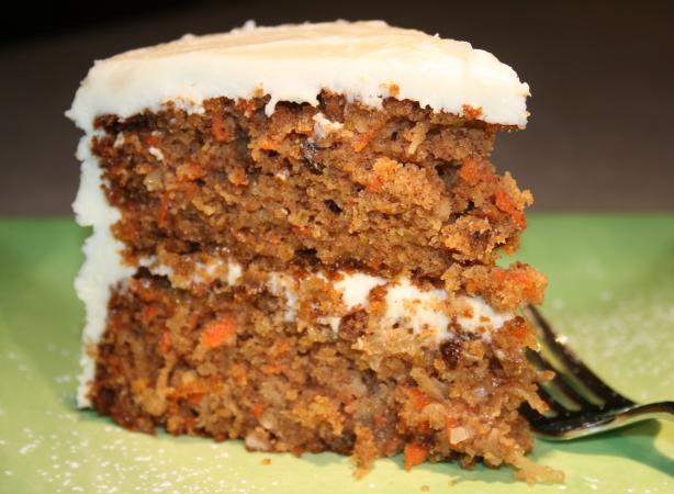 Grand Marnier Carrot Cake