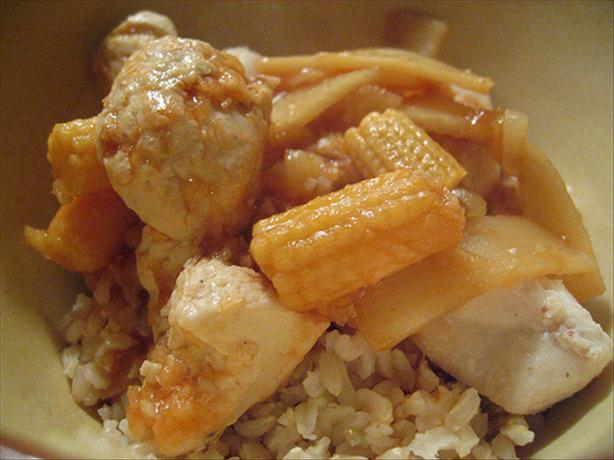 Sweet & Sour Chicken (Low-Fat)
