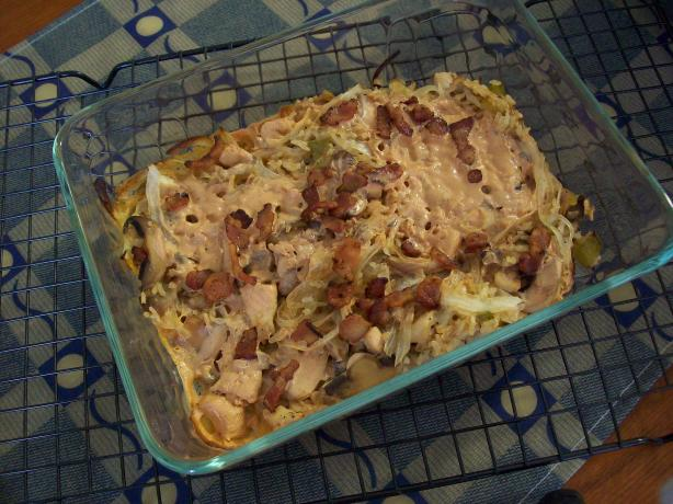 Scotti's Shrimp (Or Chicken) and Rice Casserole