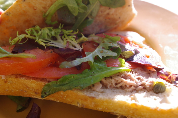 Italian Stuffed Tuna Sandwich (Ww)