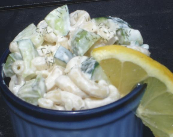 Cucumber Dill Pasta Salad