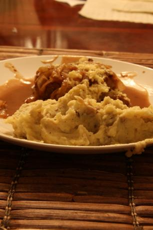 Porcini Mashed Potatoes