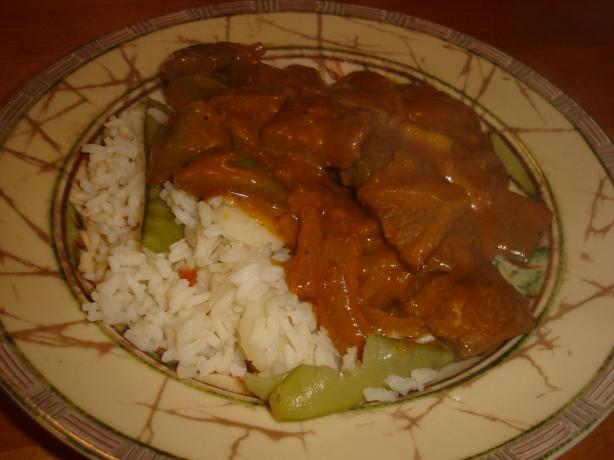 East Indian-Style Spiced Beef With Rice