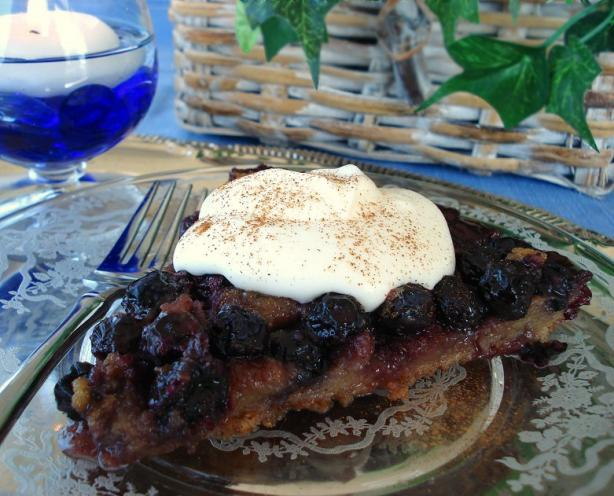 Blueberry Bread Pudding, Wonderful and Easy!