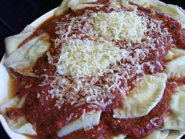 Cheese Ravioli (With Hidden Veggies Too)