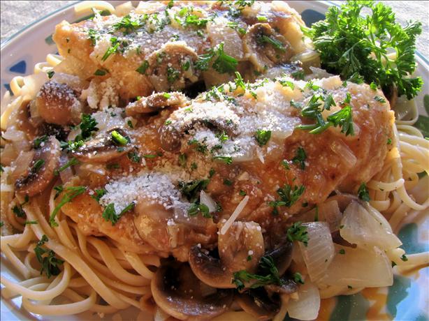 Mushroom Chicken Piccata