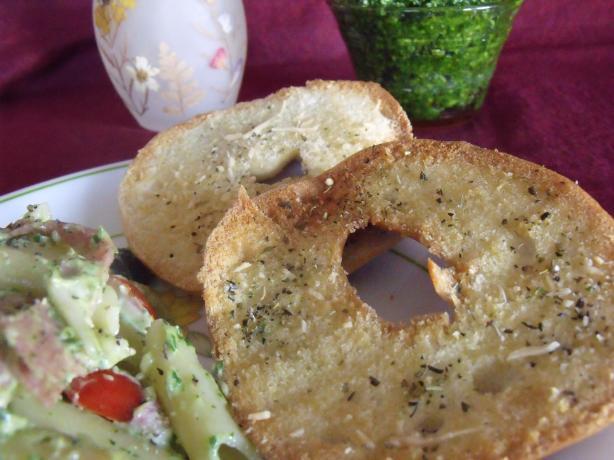 Bea's Crispy Parmesan Oregano Bagel Thins