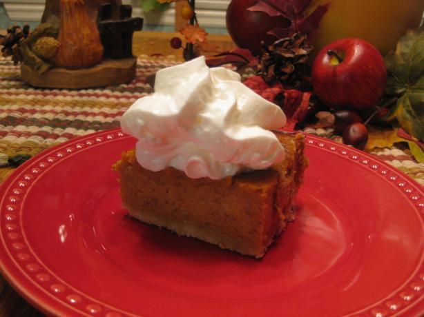 Potluck Pumpkin Pie