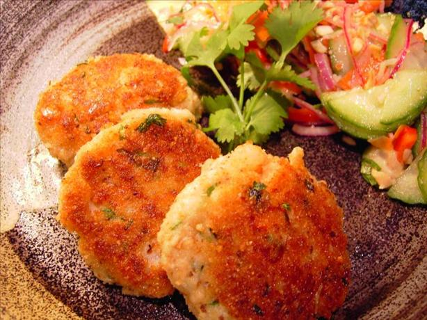 Asian Shrimp and Crab Cakes
