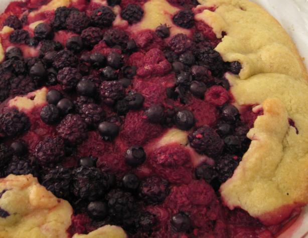 Mixed-Berry Crostata