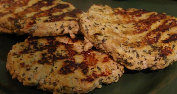 Herb-And-Citrus Turkey Burgers