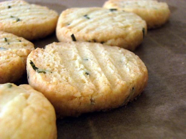 Rosemary and Parmesan Shortbread