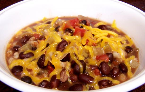 Southwestern Black Beans and Barley