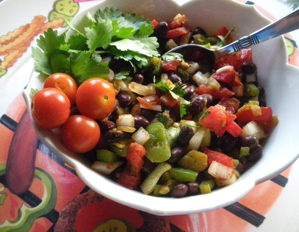 Black Bean-Tomato Salsa