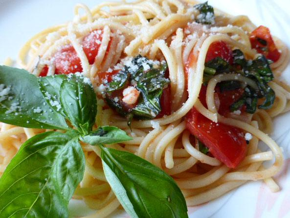 Spaghetti With Summer Tomatoes