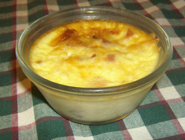 Swiss & Bacon Crustless Quiche