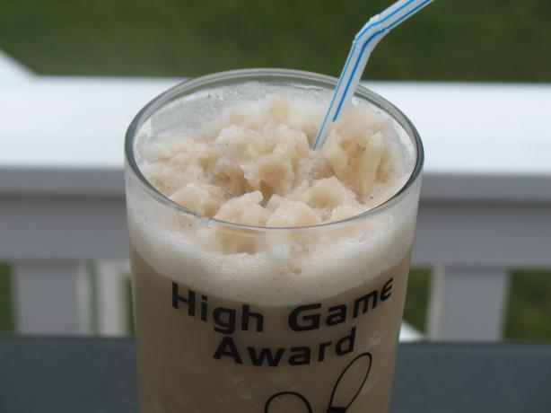 Iced Nutty Irishman Coffee Frappe (Non-Alcoholic and Diabetic)