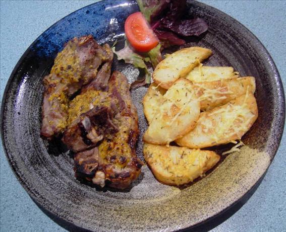 Lamb Chops in Sauce