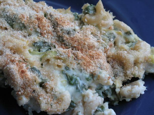 Smoky Spinach Macaroni and Cheese