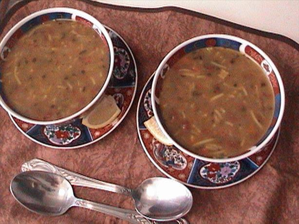 Hajar's Own Harira -- the National Soup of Morocco