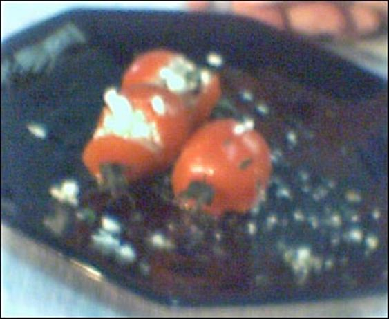 Feta Stuffed Cherry Tomatoes