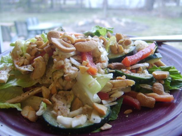 Asian Chicken Salad (No Noodles)