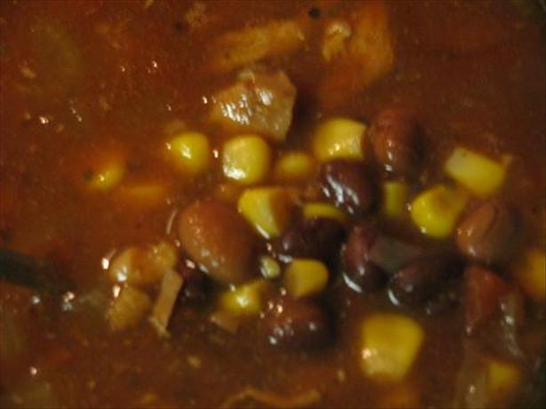 Southwestern Chicken and Bean Soup (Crock Pot)