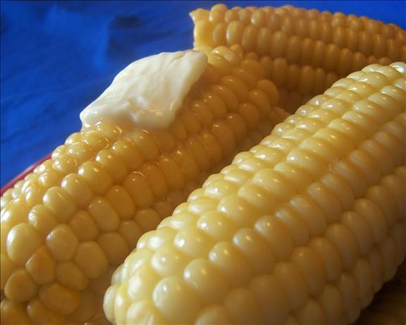 Kittencal's Milk Boiled Corn on the Cob