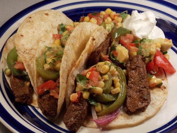 Mexican - Sizzling Steak Tacos