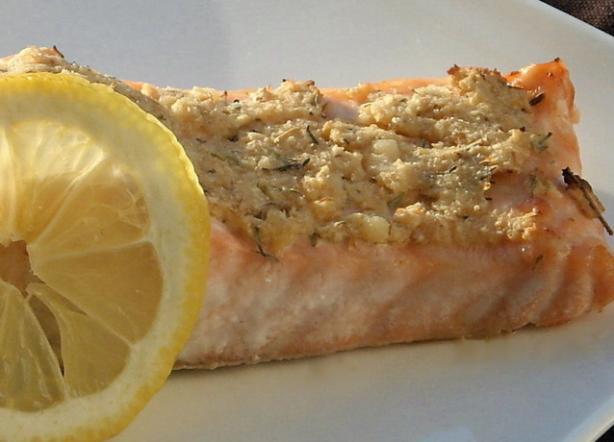 Horseradish Baked Salmon