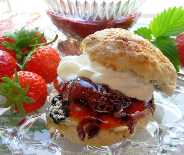 Traditional Devon Cream Tea Strawberry Jam - Strawberry Conserve