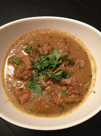 Kaypee's Homemade Indian Lamb Masala Curry