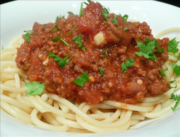Dad's Crock Pot Spaghetti Sauce