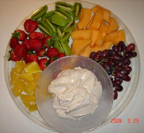 Tia Maria Sour Cream Dip for Fruit
