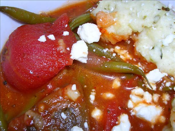 Vegetable Soup With Eggplant (Aubergine) Dumplings