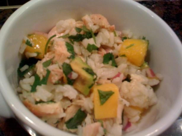 Chicken, Mango, and Rice Salad