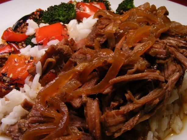 Slow-Cooked Korean Beef