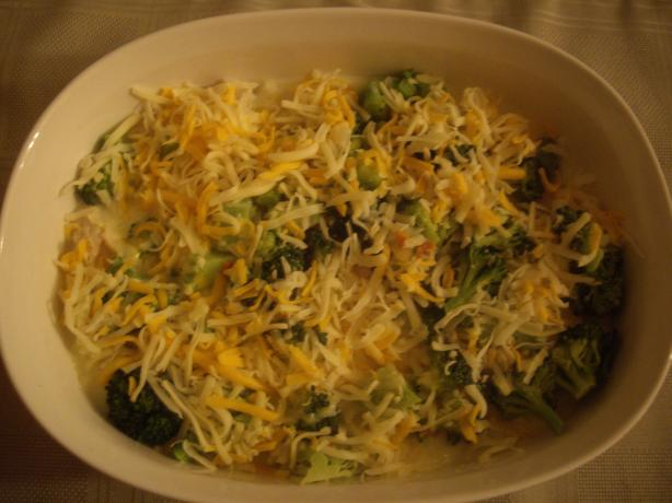 Chicken and Broccoli Rice Casserole