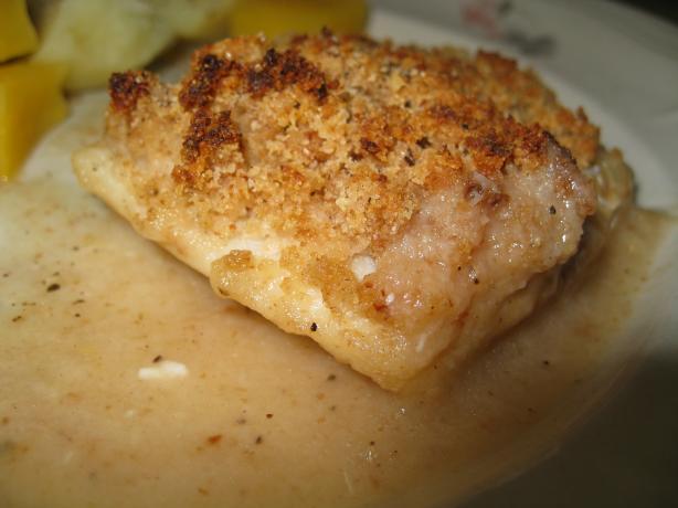 Baked Haddock (Or Scallops/Cod)