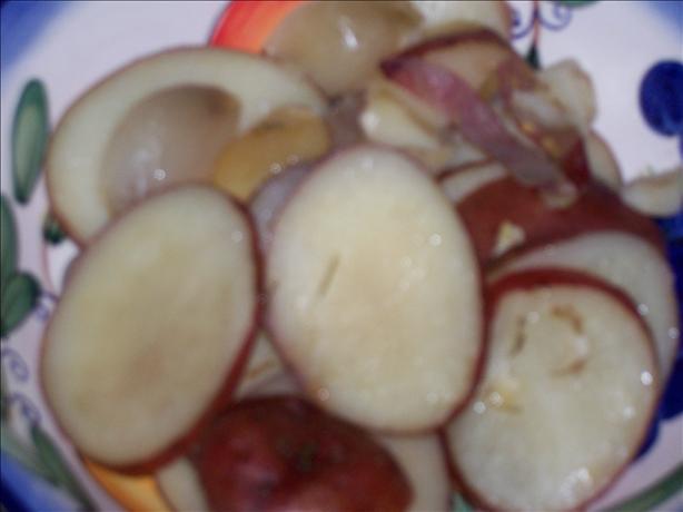 Garlic and Red Potatoes En Papillote