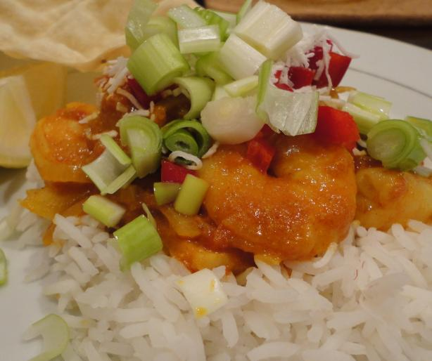 Prawn Curry - Quick and Easy