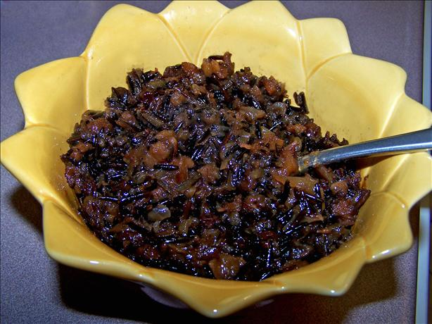 Apple Cider & Wild Rice Pilaf Treasure
