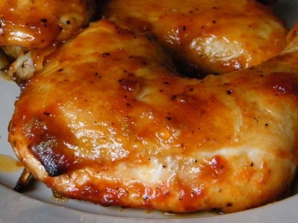 Caramelized Baked Chicken Legs/Wings